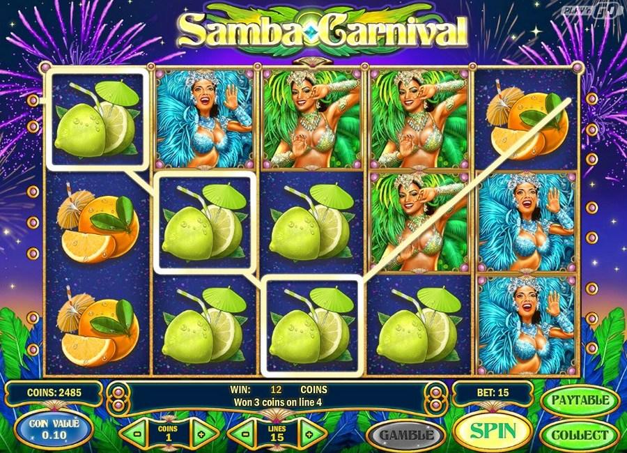 Slot machine samba