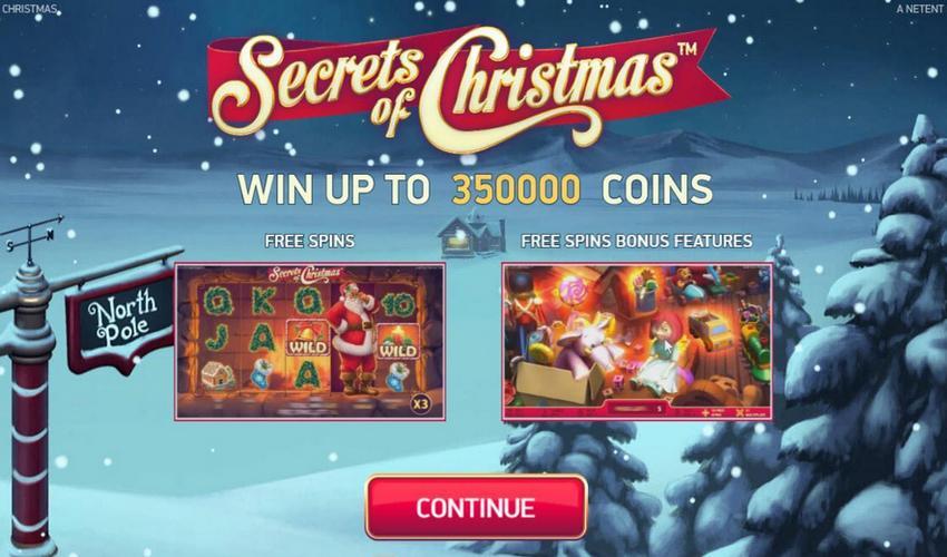 Secrets of Christmas Slot Machine