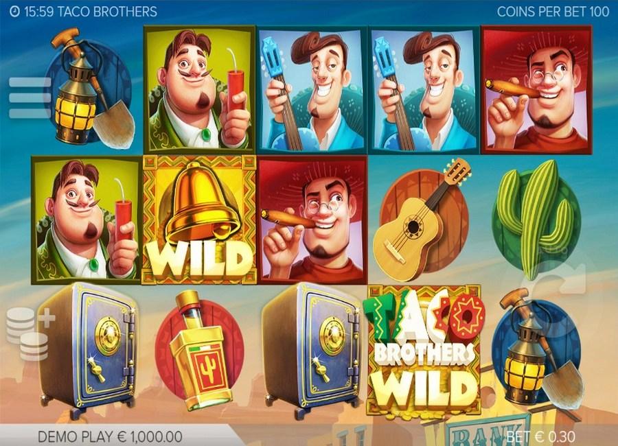 Taco Brothers Slot - Free Online Elk Studios Slots Game