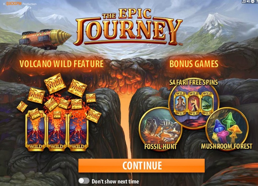 The Epic Journey Slot - QuickSpin - Rizk Online Casino Deutschland