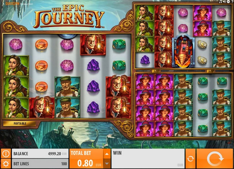 Epic Journey Slot Machine - Free to Play Online Demo Game