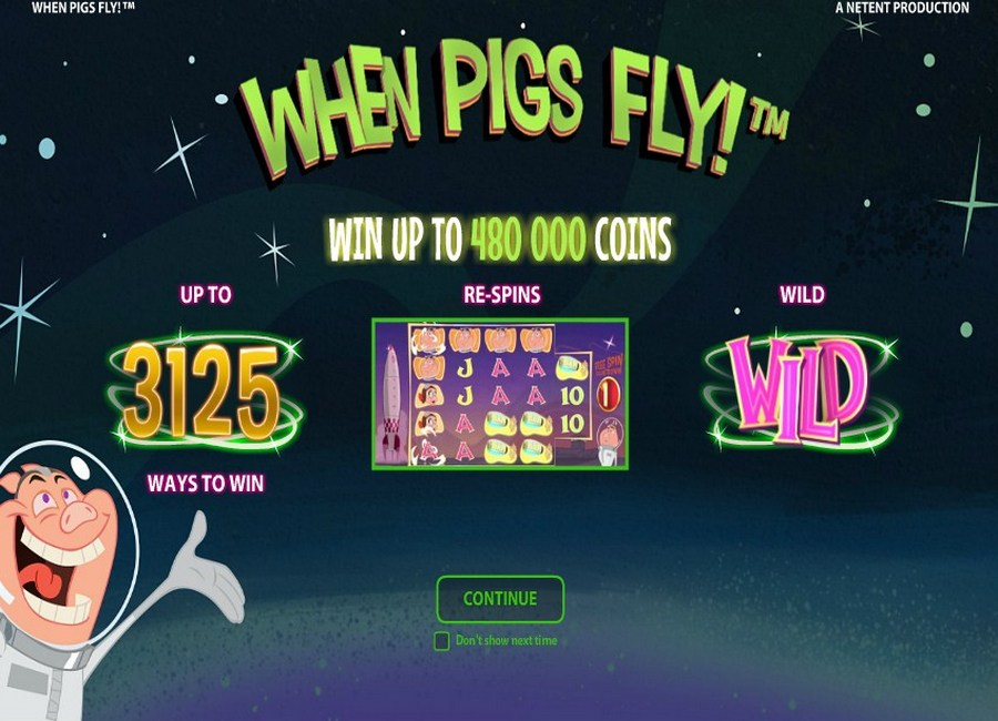 When Pigs Fly Slots