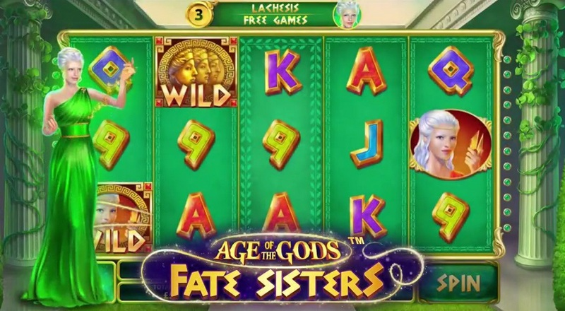 Play Age of the Gods: Fate Sisters slots at Casino.com Canada