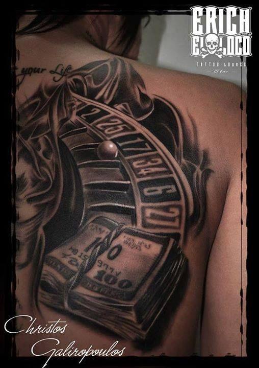 Tattoo Casino Style