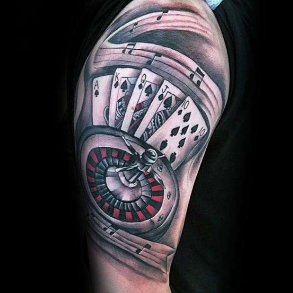 Gambling Tattoo